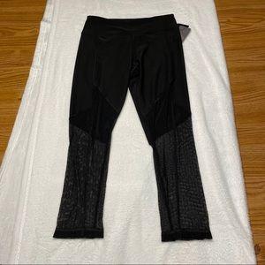 New York Laundry Black Lace Leggings Size S